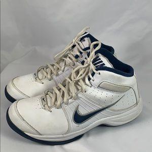 Nike White & Navy Sneakers